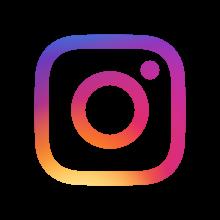 Läpinäkyvä Instagram-logo