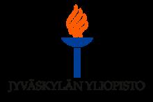 Jyväskylän yliopiston värillinen soihtulogo suomeksi